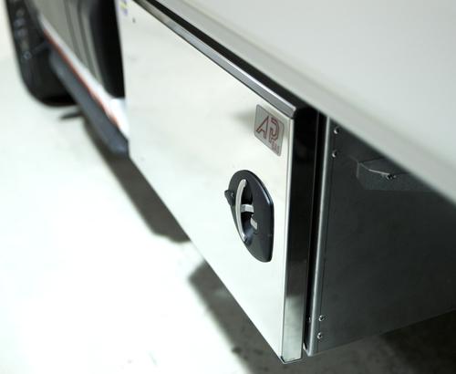 Verktygslåda L600 H470 D300  Vänster